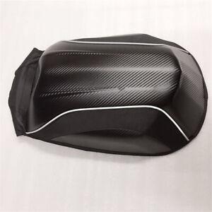 Schwarze-Motorrad-Fahrrad-Rucksack-Tasche-Wasserdicht-Koffer-Backpack-Carbon-Typ