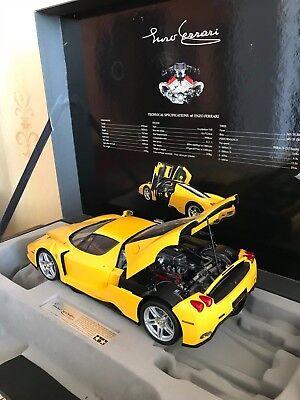 1 12 Tamiya Enzo Ferrari Yellow Model 23209 Ebay