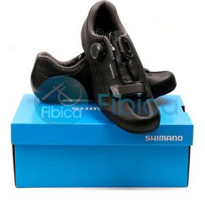 New-2019-Shimano-SH-RP5-Carbon-Road-Cycling-Bike-Shoes-Black-EU40-EU43