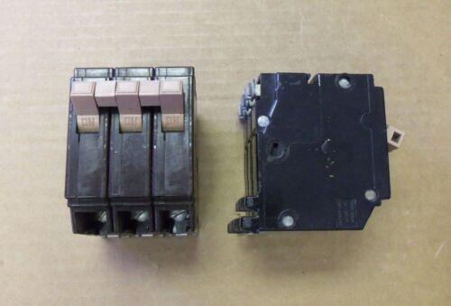 Cutler Hammer CH CH315 15 amp 3 pole Circuit Breaker PLASTIC Clips