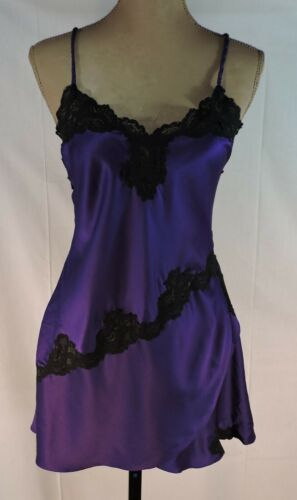 VTG 80's Nightgown Victoria's Secret GOLD LABEL si