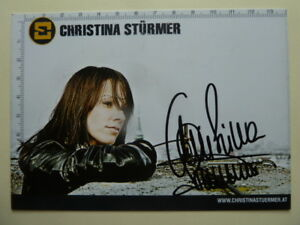 Christina-Stuermer-A-Musik-Autogrammkarte