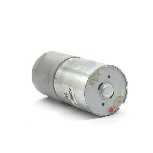 DC6V-24V 25GA-370 Gear Motors With Metal Gear Low Speed High Torque For DIY