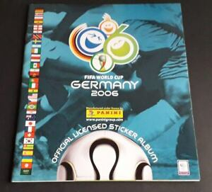 Panini-WORLD-CUP-2006-WC-2006-album-vacio
