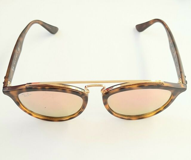 Ray-Ban RB4257 Gatsby Sunglasses Tortoise Brown and Gold