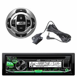 new jvc marine boat motorcycle bluetooth usb stereo. Black Bedroom Furniture Sets. Home Design Ideas