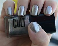 Cult Nail Polish Lacquer In Abbot Kinney Metallic Antique Gold