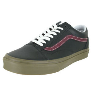 ed12c9324cb3 Image is loading VANS-OLD-SKOOL-BLEACHER-BLACK-GUM-MENS-US-