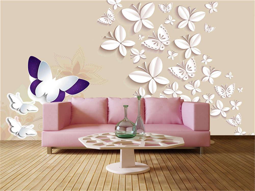 Vivid Cardinal Lily 3D Full Wall Mural Photo Wallpaper Printing Home Kids Decor