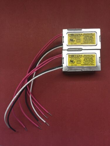 rs12-80-277 2 PACK of Hatch 80 Watt 277 Volt Halogen Ballast