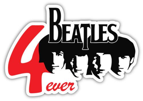 3/'/' 5/'/' or 6/'/' Beatles 4ever Music Car Bumper Sticker