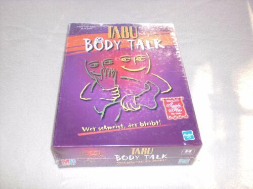 1 von 1 - NEU OVP - Tabu Body Talk - Wer schweigt der bleibt ! - MB Spiele 2000 - Hasbro
