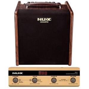 Nux-Stageman-Acoustic-Guitar-Amplifier-w-Digital-FX-amp-Jam-Function-w-Footswitch