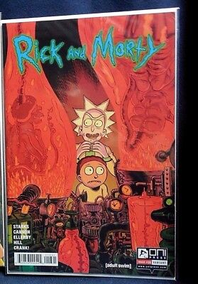Rick and Morty Issue #23 Variant Print *We Combine Shipping*