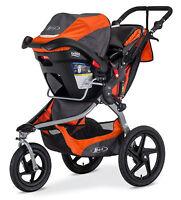 Bob 2016 Revolution Flex Stroller Travel System Canyon + B-safe 35 Car Seat