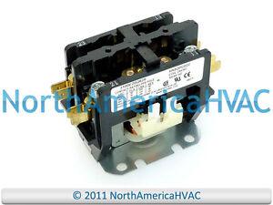 Lennox-Armstrong-Ducane-Condenser-Contactor-Relay-2-Pole-30-Amp-68J37-68J3701