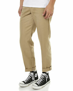 e19e963b99d Dickies Slim Straight Fit Work Pants KHAKI WP873 New Skateboard Bmx ...