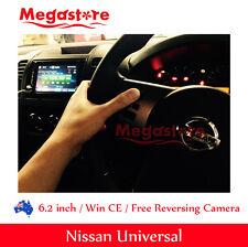 "6.2"" Nissan universal Double 2 DIN Car DVD Player Radio Stereo GPS CD BT"
