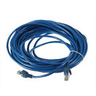50FT RJ45 CAT5 CAT5E Ethernet Network Lan Router Patch Cable Cord 15M LU