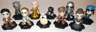 Star Wars The Last Jedi Bobble-Heads Mystery Minis Vinyl Figures DJ