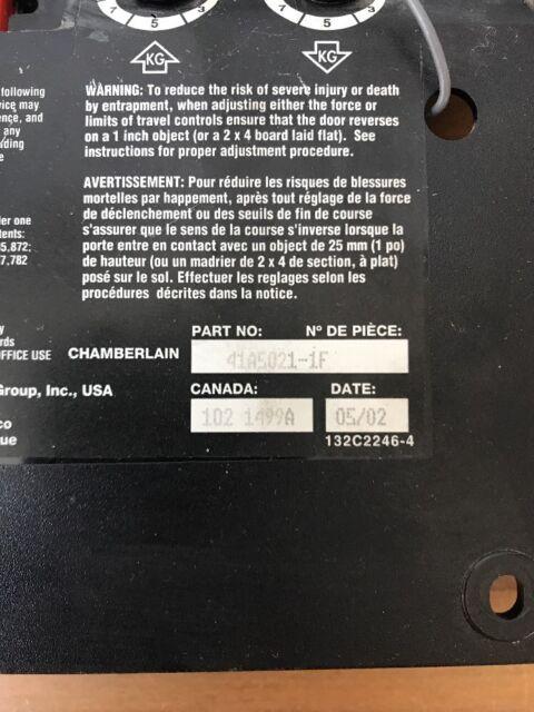 Garage Doors, Openers & Parts Doors Liftmaster/Chamberlain Genuine ...