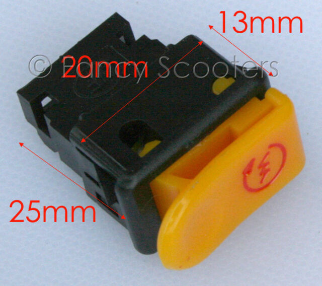 Gy6 50cc Scooter Starter Switch Start Button (2 Pins)