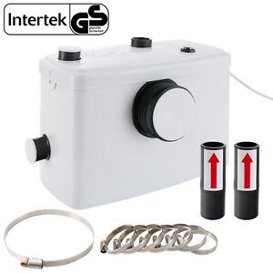Arebos Bomba Trituradora Sanitaria de Agua Residual Macerador 600 W - Blanco