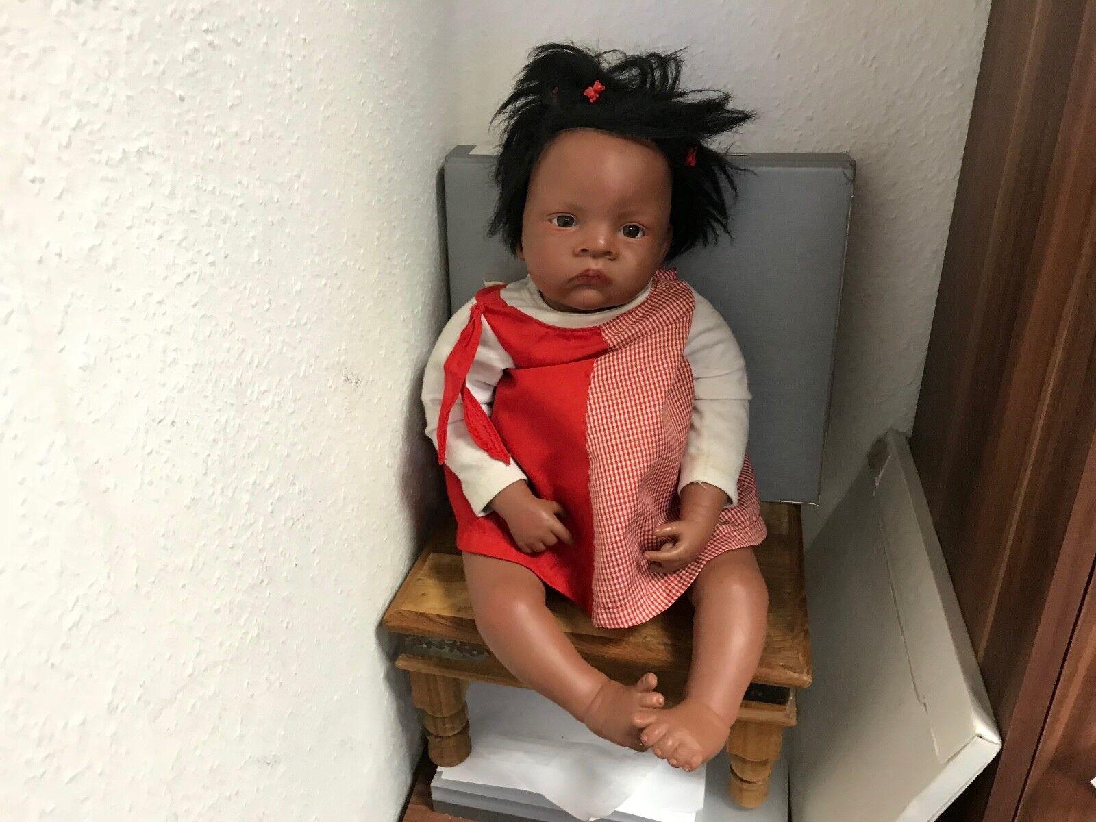 . waltraud hanl vinilo muñeca 52 cm. top estado