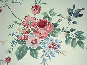double roll eisenhart wallcoverings prepasted wallpaper floral 56 2
