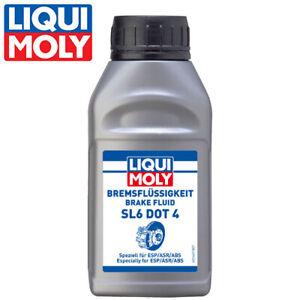 Liqui Moly Bremsflüssigkeit SL6 DOT4, 250ml Flasche brake fluid bremsen 21166