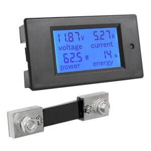 1X-Amperemetre-Voltmetre-Multimetre-a-Affichage-Numerique-Lcd-Dc-6-5-100V-0-1-4E