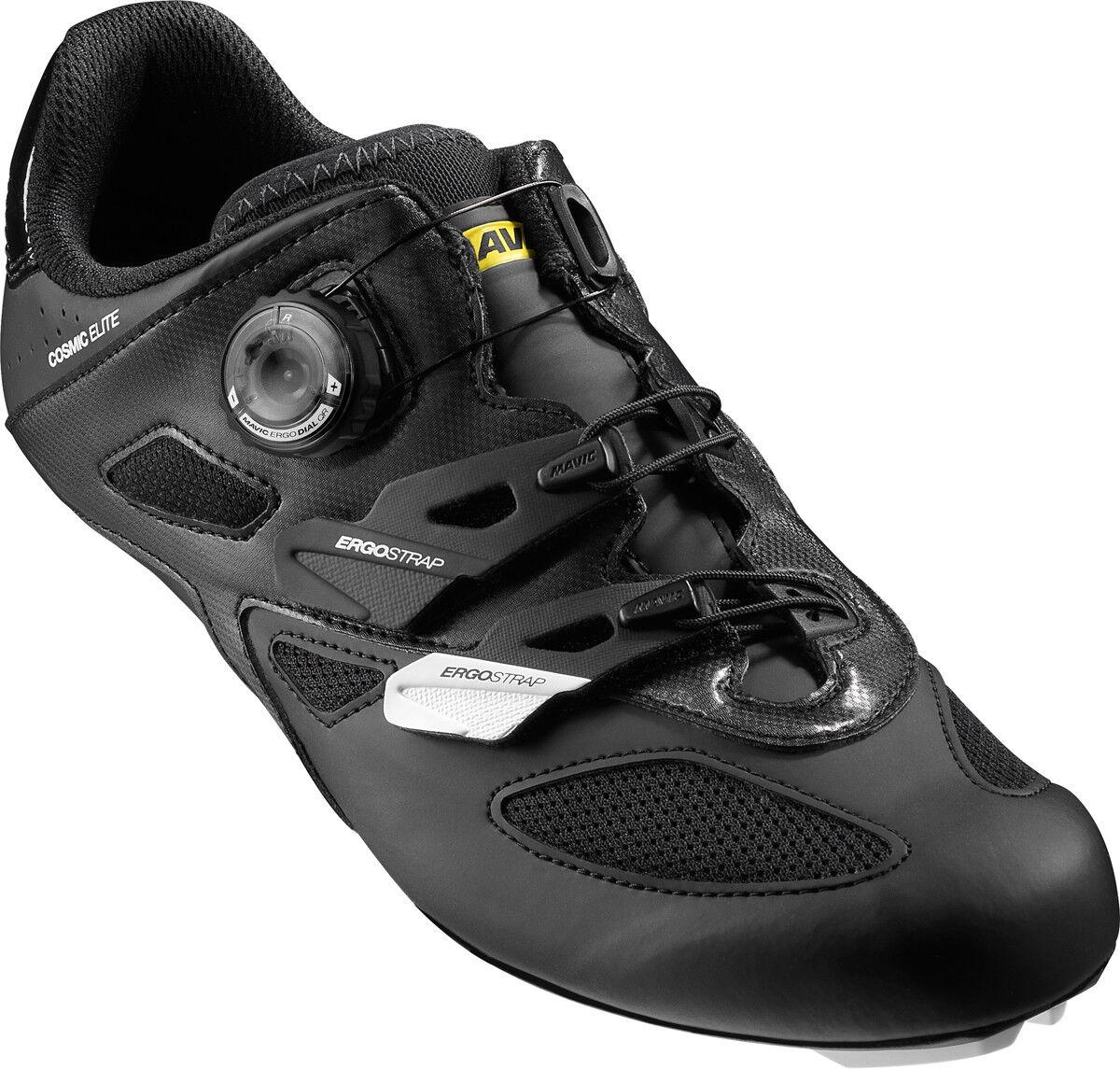 Mavic Cosmic Elite Rennrad Fahrrad Schuhe weiß schwarz 2019