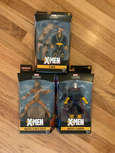 Legends-Series-Marvel-X-Men-The-Age-of-Apocalypse-Figures-Lot-of-3-New