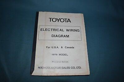 1979 Toyota Electrical Wiring Diagram Factory Repair ...
