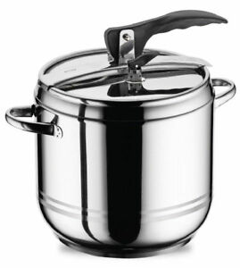 5-L-Stainless-Steel-Stovetop-Pressure-Cooker-Casserole-Stockpot-Induction-Base