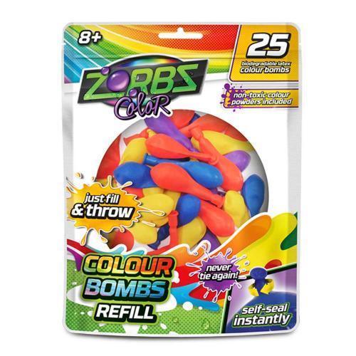 Ballons Zorbz Farb Wasserbomben 25er Beutel Biologisch abbaubar selbstverschl