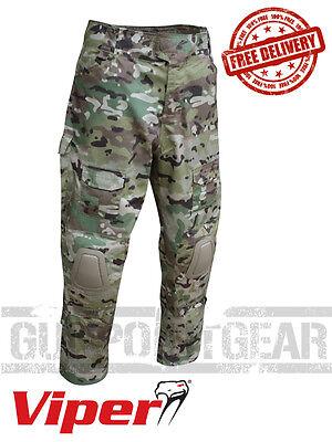 Delizioso Viper Tactical Elite Combat Pantaloni Con Ginocchiere Airsoft Paintball Vtrsel- Prestazioni Affidabili