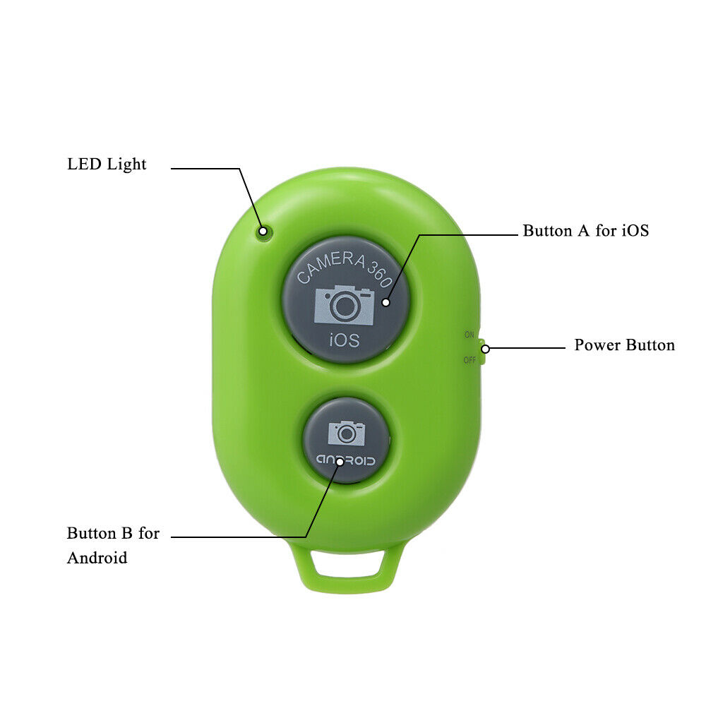 Bluetooth Remote Shutter Bluetooth 3.0 Self Timer For Android 4.2.2&IOS N4U9