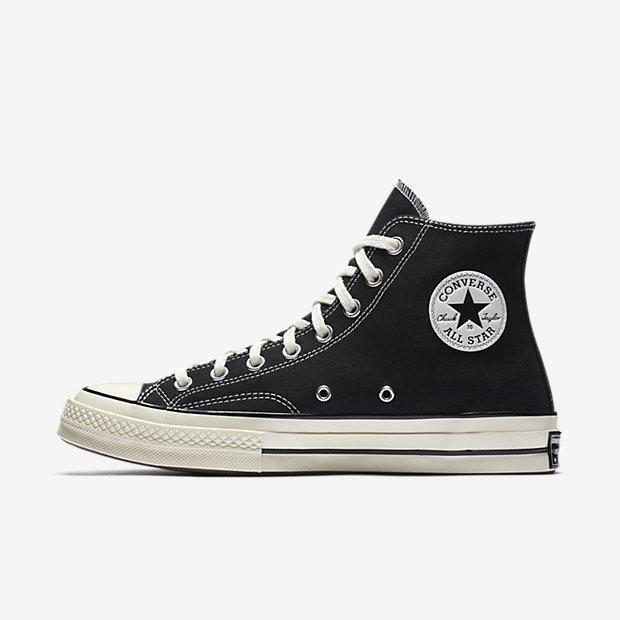 4ccd98f8cad6 Converse Chuck 70 Classic Hi-top Shoes Black Sail Egret 162050C Size 11 for  sale online