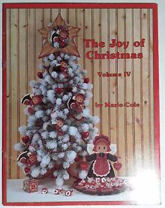 Joy Of Christmas Iv Decorative Tole Painting Patterns Nativity Scenes Santa King Ebay