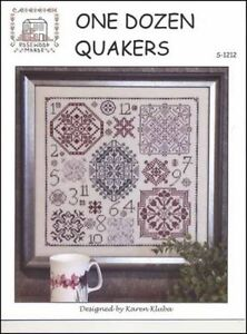 One-Dozen-Quakers-by-Rosewood-Manor-X-1212-designs-by-Karen-Kluba-Pamphlet