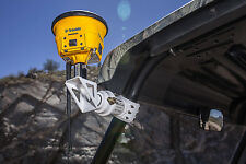 Universal UTV Surveying GPS Mount Trimble Topcon Survey SXS Roll Bar Cage Mount