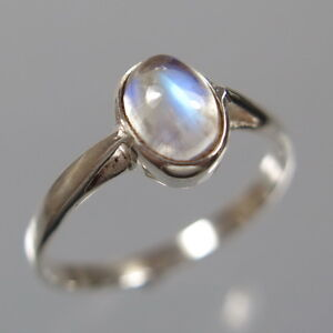 Mondstein-Ring-Statement-Oval-Cabochon-925-Silber-Gr-60-Silberring