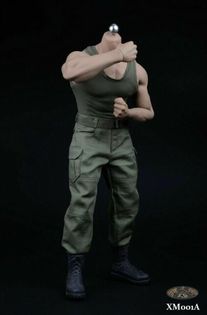 1//6 XM01 Camo Vest Combat Pants Clothes Fit 12/'/' Muscular PH M34 Male Figure