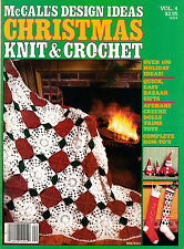 MCCALL'S DESIGN IDEAS CHRISTMAS KNIT & CROCHET MAGAZINE VOL.4