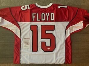 Michael Floyd Cardinals Signed Autographed Custom Jersey with COA ...