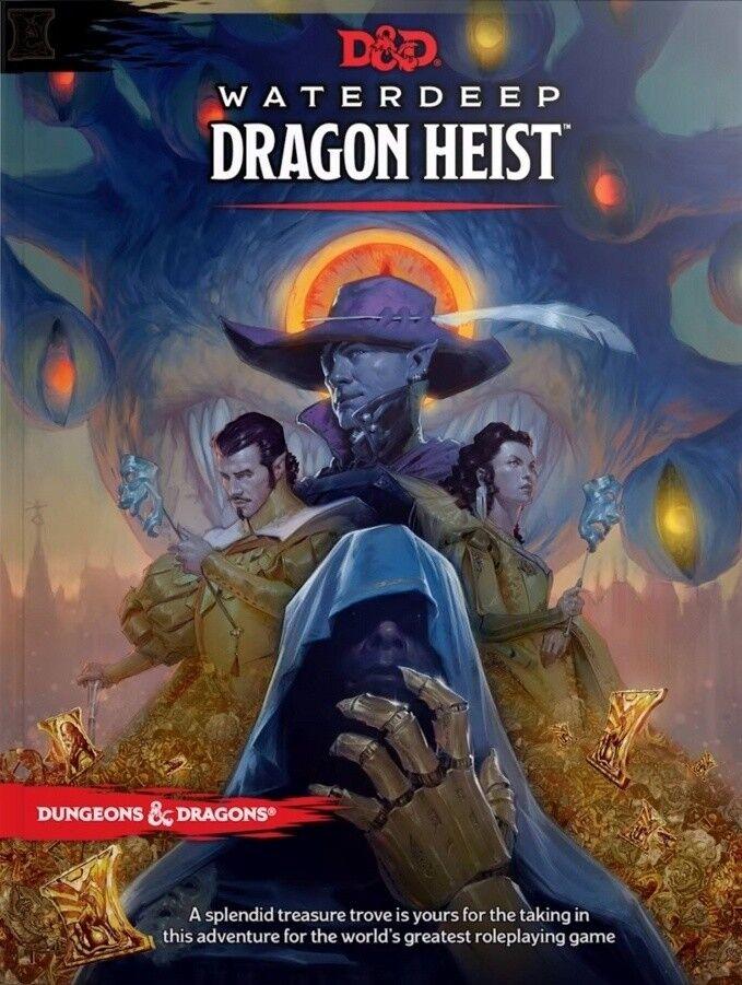 Dungeons & Dragons 5a Edizione Waterdeep  Dragon Heist D&D