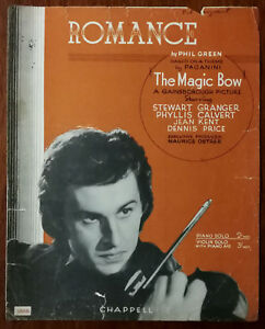 Romance-by-Phil-Green-from-The-Magic-Bow-with-Stewart-Granger-Pub-1944
