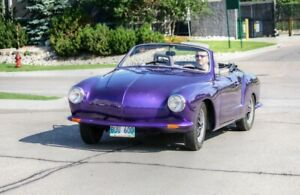 1970 Karmann Ghia Convertible - Very Rare