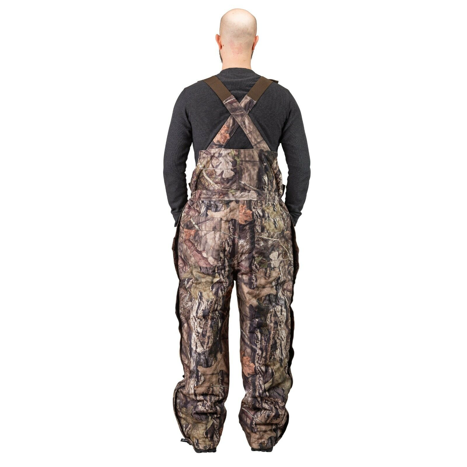 purchase genuine reasonably priced check out Men's Insulated & Waterproof Camo Bib Overalls Mossy Oak  Pattern-hunting-hiking